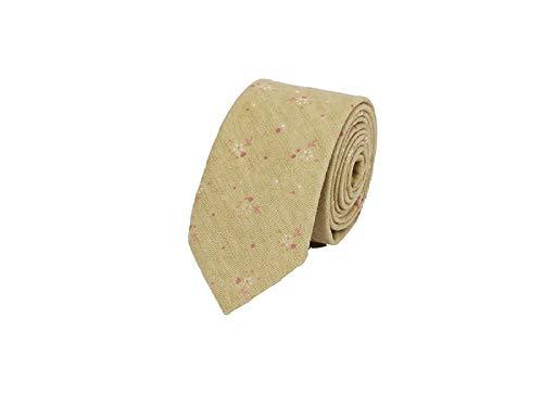 TjcmSs Simple y Elegante Corbata Floral Estrecha de Moda para ...