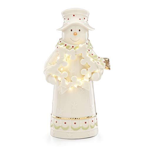 Lenox 886808 Light-Up Snowman Figurine