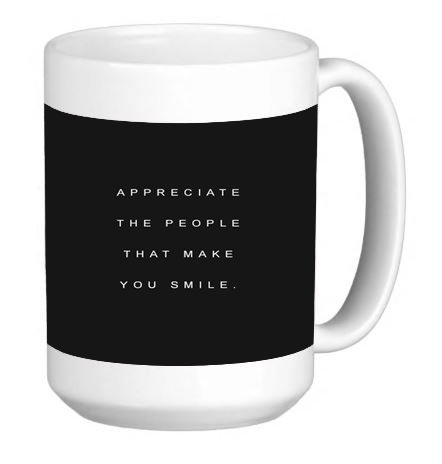 Inspirational Quote Phone Case 15 ounce Ceramic Coffee Mug Tea Cup (Positive Quote Mugs compare prices)
