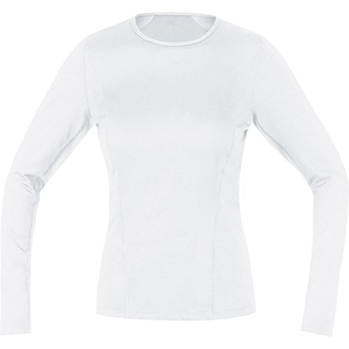 (Gore Bike WEAR Women's Base Layer Lady Long Shirt, White, Small)