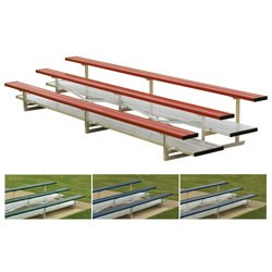 3 Row 21' Powder Coated Bleachers (EA)