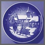1992 Christmas Plate (1992 Bing & Grondahl Christmas Plate - At the Rectorv)