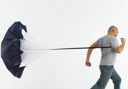 Crazy Shopping Speed Resistance Training Parachute Running Chutes Soccer Football Training