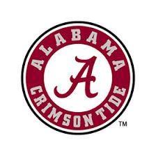 Alabama Crimson Tide Logo Sports Edible Cake Topper Image ABPID03198-1//4 sheet