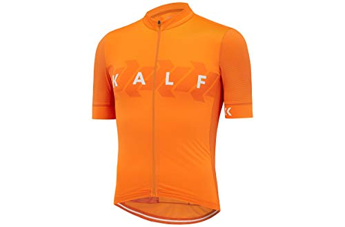 KALF Pro Cycling Jersey Short Sleeve Bike Top Quick Dry Men Summer Bicycle Clothes -