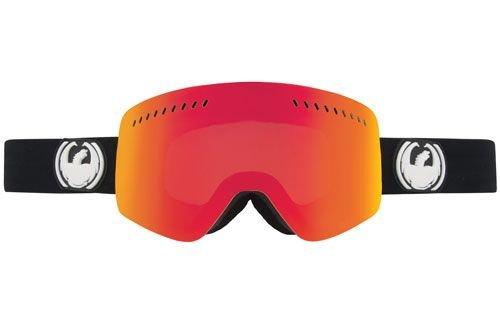 DRAGON NFX Goggles 2014 Inverse Red Ionized BONUS LENS Ski Snowboard NEW (Ionized Snowboard Goggles)