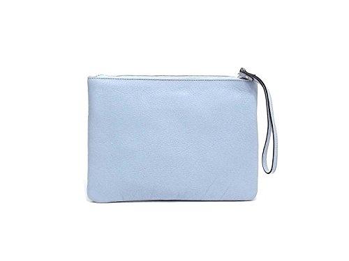 Coccinelle - Bolso al hombro para mujer azul claro
