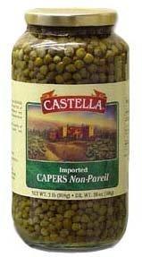 Capers Non-Pareil, 2lb by Castella