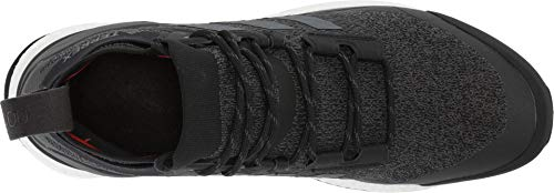 adidas outdoor Terrex Free Hiker Boot - Men's Black/Grey Six/Active Orange, 8.0 by adidas outdoor (Image #1)