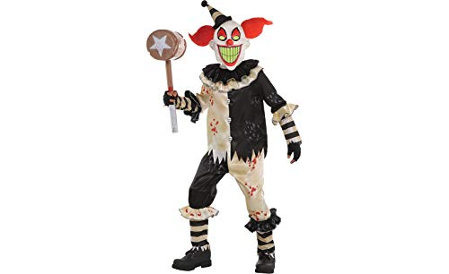 Amscan Carnival Nightmare Clown Costume - Large -