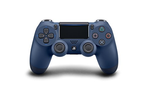 DualShock 4 Wireless Controller for PlayStation 4 - Midnight Blue (Red Sony Camera)