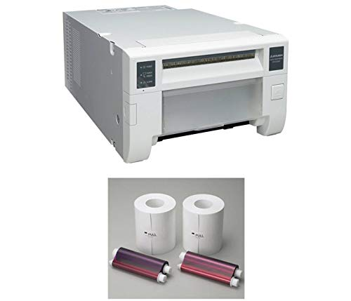 (Mitsubishi CP-D70DW Pro-Performance Dye-Sub Photo Printer - Bundle w/Electric Two 6
