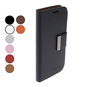 PU Leather Full Body Case with Stand and Card Slot for Samsung Galaxy S4 I9500 (Assorted Colors) --- COLOR:Beige