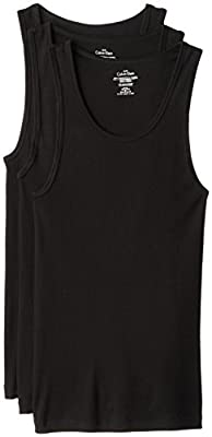 Calvin Klein Men's 3-Pack Cotton Classic Rib Tank Top
