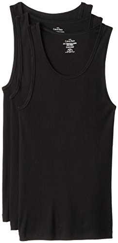 Calvin Klein Men's Undershirts Cotton Multipack Tank Tops...