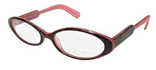 Paul Smith 296 Womens/Ladies Cat Eye Full-rim Eyeglasses/Eyeglass Frame (52-17-135, Tortoise / Watermelon)