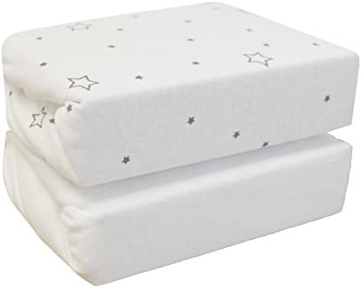 Magical Star Cuddles Fitted Sheets for Cotbed 2 Pack