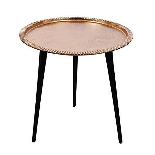 TABLE PASSION - Mesa Auxiliar (46 cm, cinceada, Dorada): Amazon.es ...