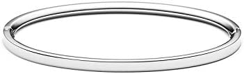 MVMT Women's Ellipse Thin Bangle Bracelet | Clasp Closure, Stainless Steel