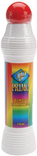 Primo Bingo Markers 4 Ounces-Red by Dab'n Stic by Crafty Dab