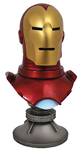 DIAMOND SELECT TOYS Legends in 3-Dimensions: Marvel Iron Man Half-Scale Resin ()