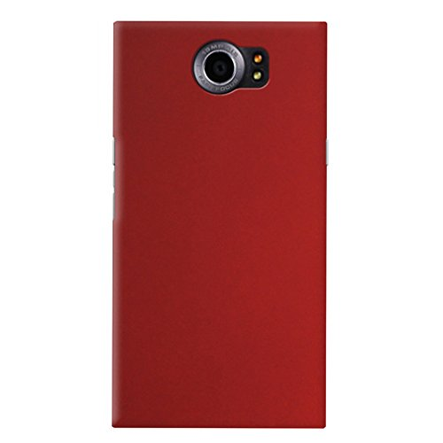 Fettion BlackBerry Priv Case, Ultra Slim Lightweight PC Hard Phone Case Back Cover for BlackBerry Priv Smartphone (Slim - Red)