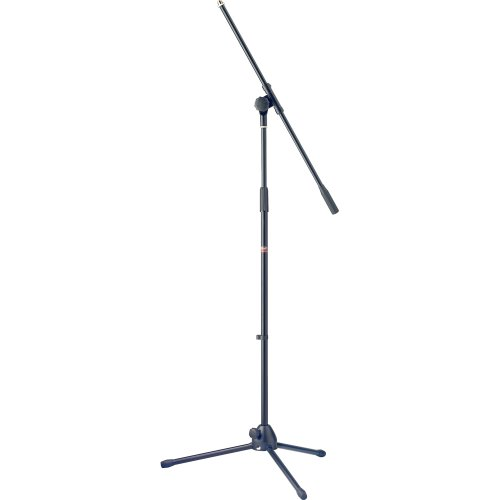 (Stagg Mis-1022Bk Microphone Boom Stand With Folding Legs - Black)