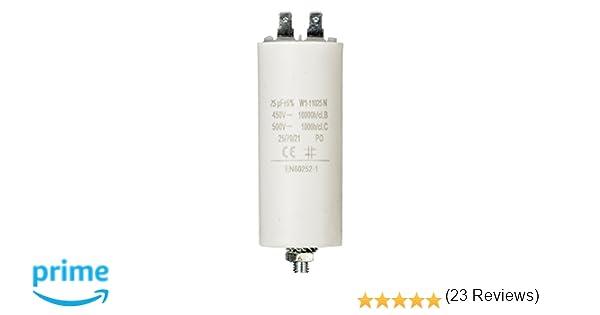 Fixapart W1-11025N, Cebador, 450 V , Blanco