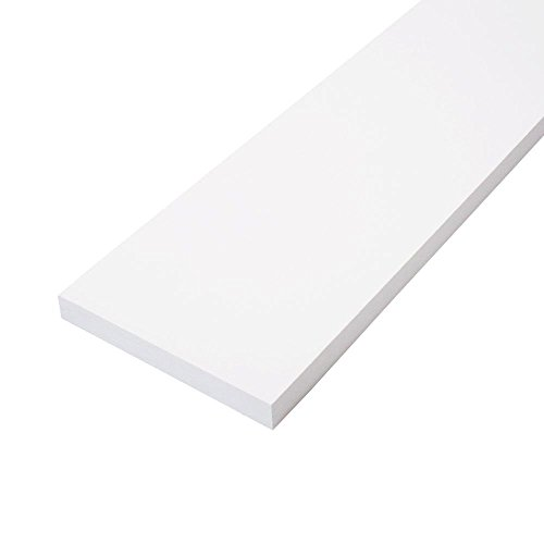 1 in. x 6 in. x 8 ft. Primed Finger-Joint Pine Trim Board (Actual Size: 0.719 in. x 5.5 in. x 96 in.) (6-Piece per (Finger Joint Pine)