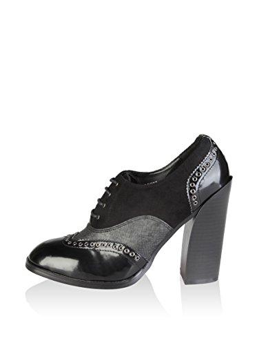 lacets V Noir à Chaussures pour 1969 Femme V noir 1969 qtOa07wn