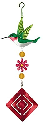 Regal Art and Gift Hummingbird Twirly Garden Hanging Ornament