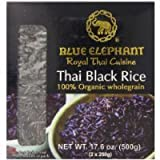 Blue Elephant Royal Thai Cuisine Rice, Organic Black, 17.6 Ounce Thank you for using our service