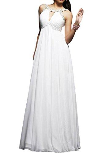 Promgirl House Damen Sexy Chiffon Traeger A Linie Abendkleider Lang Ballkleider Cocktail Partykleider 2015