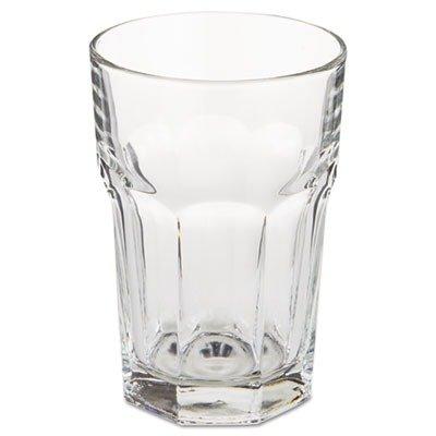 LIB15238 - Libbey Gibraltar Glass Tumblers, Beverage, 12oz, 4 7/8 Tall