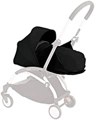 NEW white sherpa fleece  NEW fabric head support now in matching color to the nest pad  NEW nest pad (increased thickness from 15 to 20 mm)  NEW Foot cover now in the same fabric as the canopy, for stronger protection (more durable and water-...