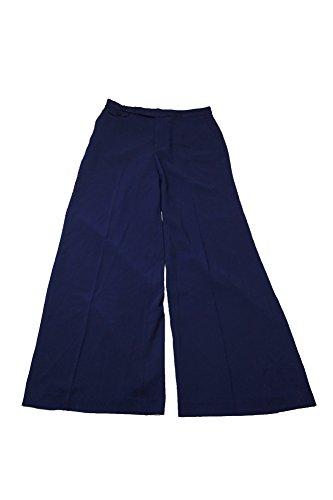 Wide Leg Sharkskin Pants - 2