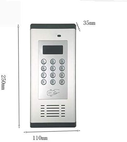 MSNDIAN niet-visueel gebouwen-intercom voor elektronische toegangscontrole-eenheid huishoudelijke artikelen telefoon