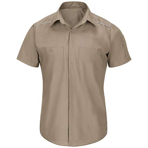 Red Kap Men's Short Sleeve Pro Airflow Work Shirt