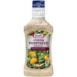 Kraft, Creamy Poppyseed Dressing, 16oz Bottle (Pack of 3)