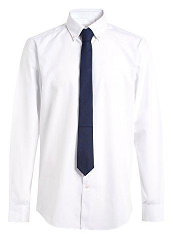next Hombre Pack De Dos Camisas Blanca Y con Cuadros Guinga De ...