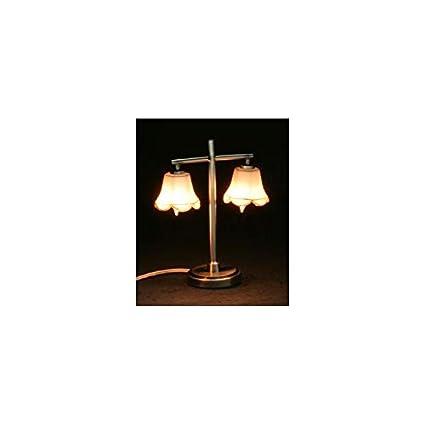 Amazon.com: Casa de muñecas miniatura moderno lámpara de ...