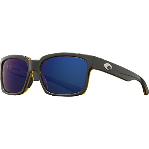Costa Del Mar Playa Polarized Sunglasses Black/Amber Blue Mir 580p