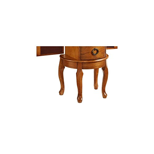 Powell Burnished Oak Jewelry Armoire by Powell (Image #8)