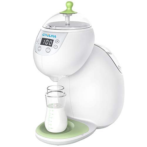 Cholma Baby Formula Maker Instant Heat in 8 Seconds Baby Formula Bottle Maker Dispenser and Mixer Machine Refuse to Cake Milking, No Noise, Sterilizable FDA Approved