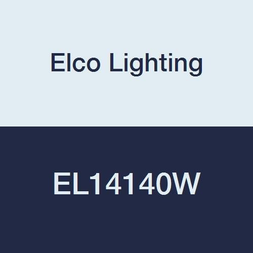 8W 12V Elco Lighting EL14130W 4 Round LED Bi-Pin Insert Reflector Trim White 3.5 Height 5.25 Width 5.25 Length