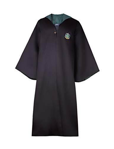 Cinereplicas Harry Potter Authentic Tailored Wizard Robes Cloak (Medium, Slytherin)]()