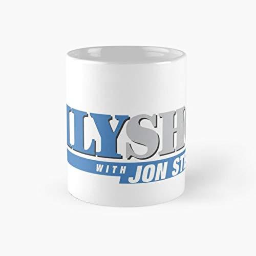 The Daily Show with Jon Stewart Mug, jon stewart Cup, 11 Ounce Ceramic Mug, Perfect Novelty Gift Mug, Funny Gift Mugs, Funny Coffee Mug 11oz, Tea Cups 11oz -