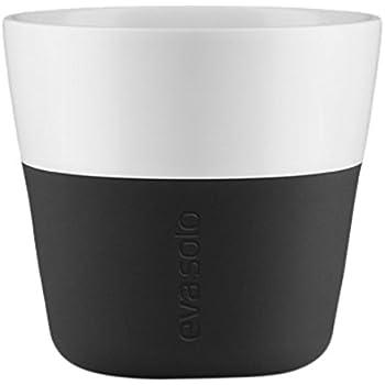 Eva Solo Arctic Blue Porcelain Coffee Tumbler with Silicone Sleeve 2pcs 5706631180160 Lungo 230ml