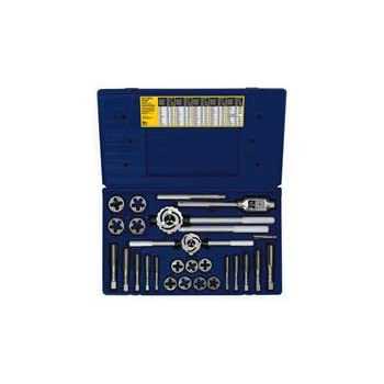 irwin industrial tools metric tap and hex die set 25piece