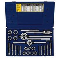 Irwin Industrial Tools 97311 Metric Tap and Hex Die Set, 25-Piece ()